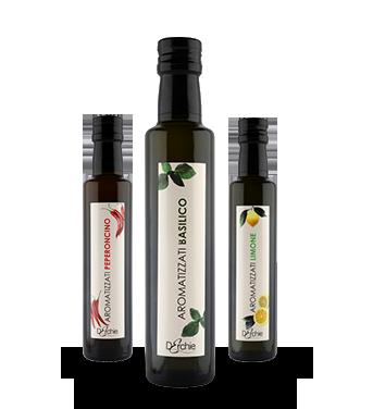 Olio Extravergine di oliva- Linea Aromatizzati